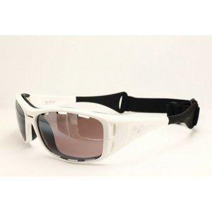 Maui Jim Waterman MJ 410-05 Wrap Sunglasses 63.5mm